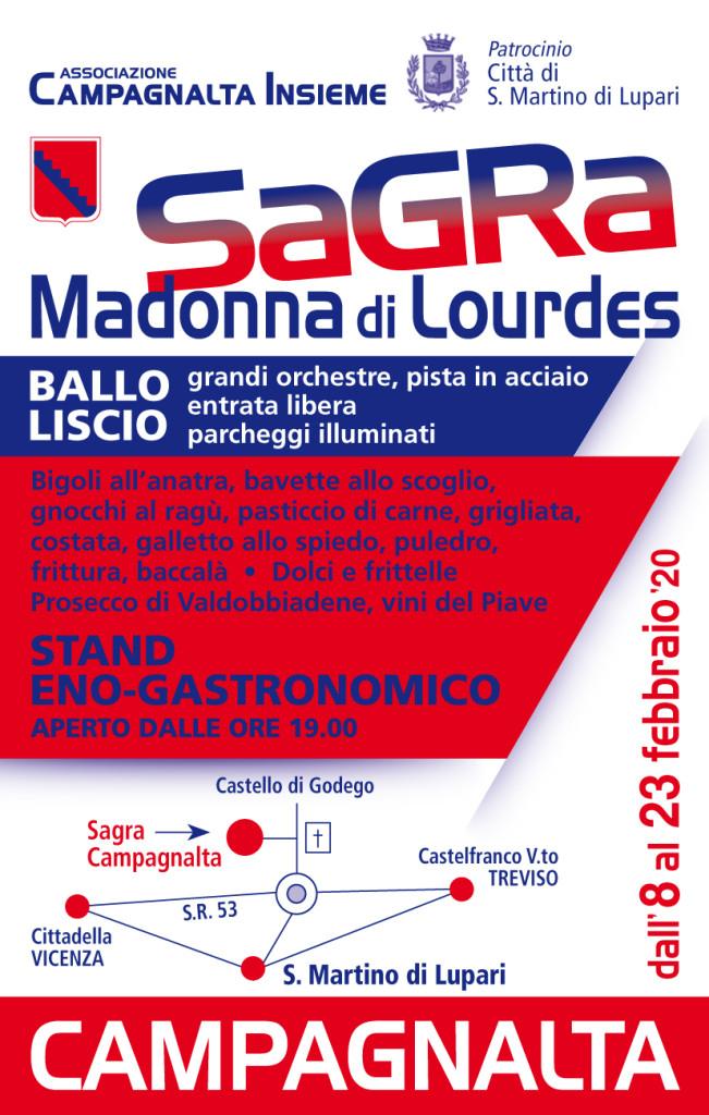 Campagnalta Insieme - Sagra Madonna di Lourdes - Calendario Serate ballo...