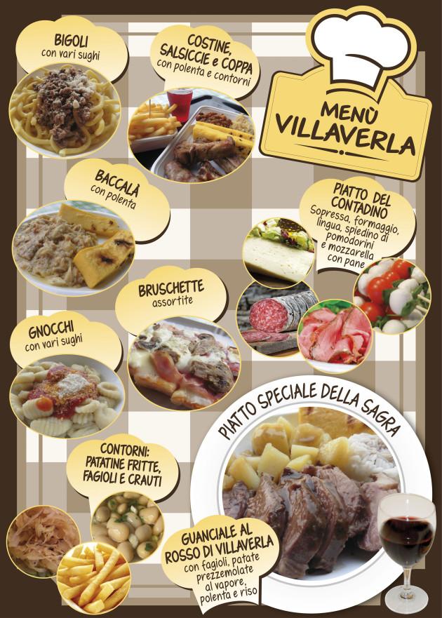 poster menu 2019 VILLAVERLA