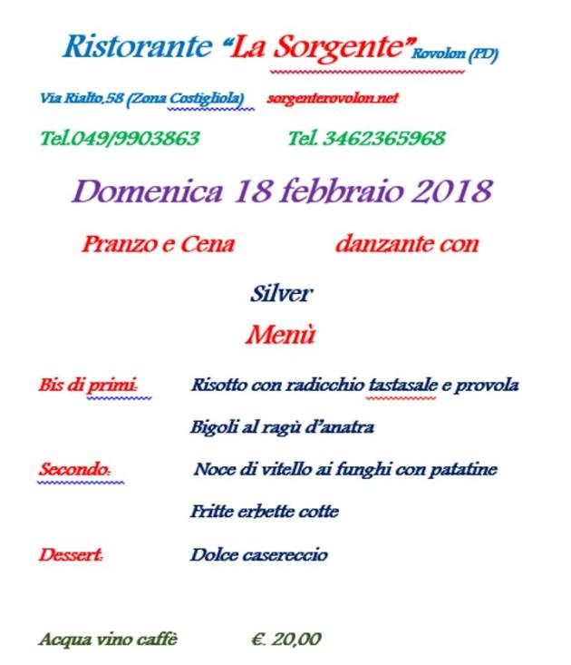 LA SORGENTE 18.02.18