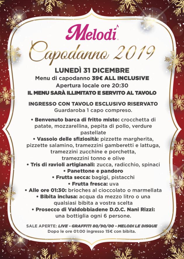 melodi Capodanno 2019