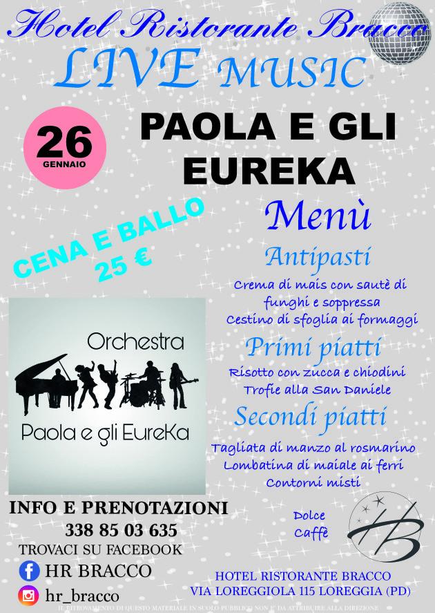 eureka menu