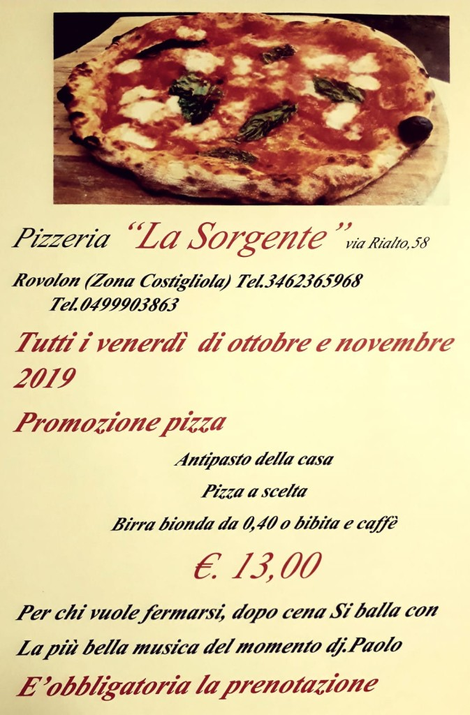 SORGENTE PIZZA